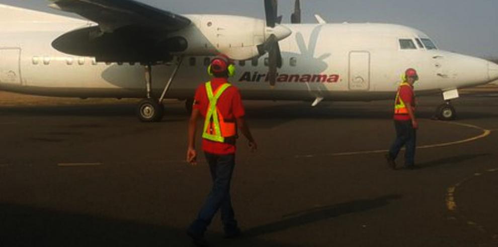 Arribó el primer vuelo Panamá-Chitré de Air Panama