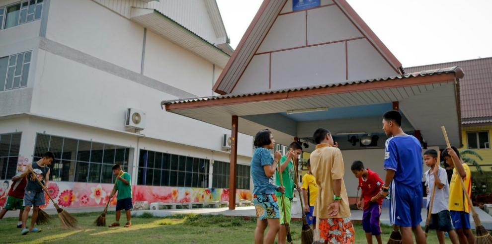 La casa escuela para niños enfermos de sida