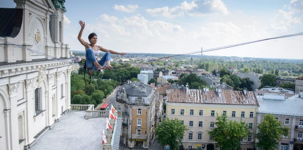 Desafiando las alturas de Polonia