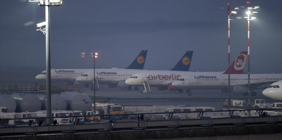 Lufthansa cancelará 912 vuelos el jueves por la huelga de los pilotos