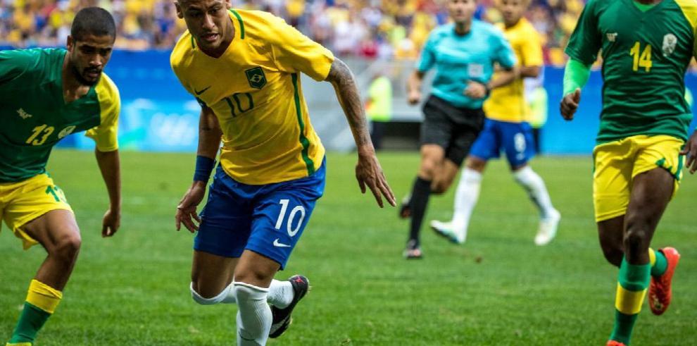 Neymar dice que sería un fracaso si Brasil no gana oro