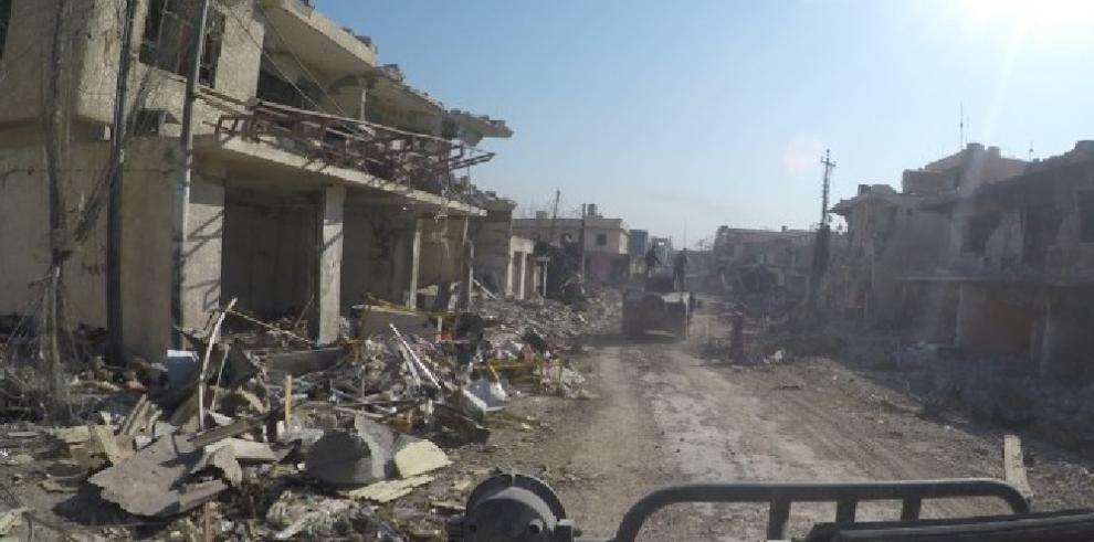 Fuerzas antiterroristas iraquíes irrumpen en un nuevo barrio de Mosul