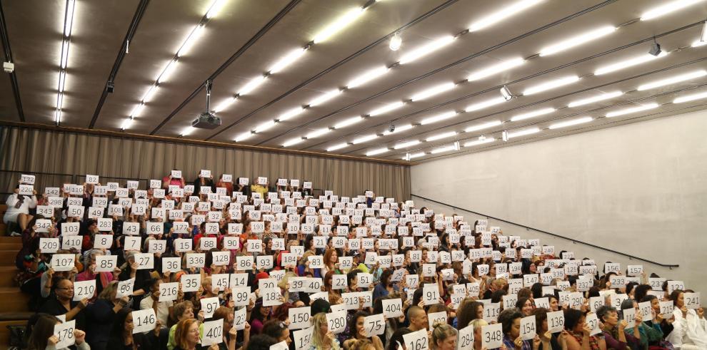 Artistas lanzan un manifiesto por la igualdad con retrato fotográfico