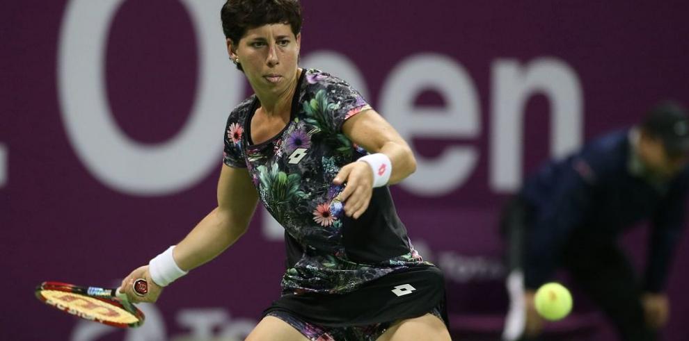 Carla Suárez se mete a la final del tenis de Qatar