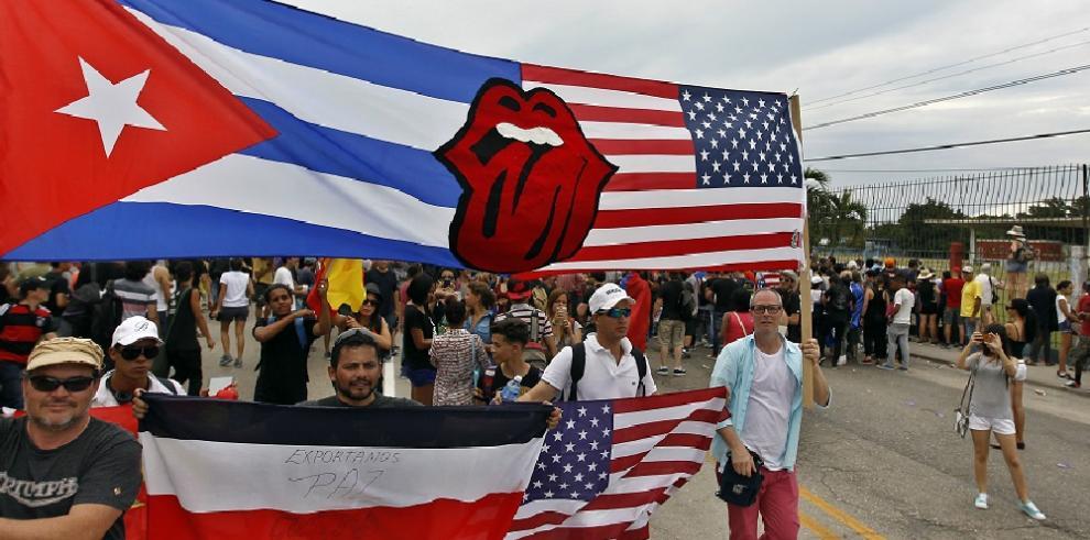 Histórico concierto de The Rolling Stones en La Habana