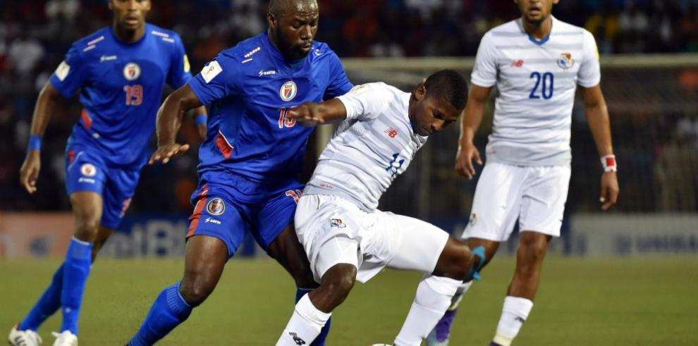 Haití y Panamá empatan 0-0 en clasificatorio de la Concacaf