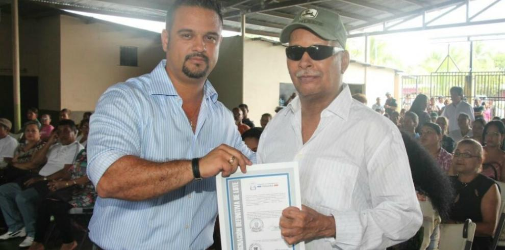 Miviot entrega asignaciones definitivas de lotes en Chiriquí