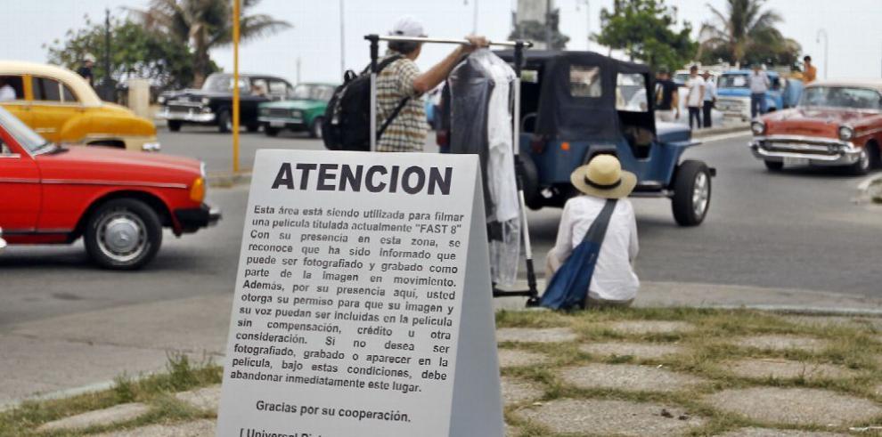 Comienza filmación de la película 'Rápido y Furioso 8' en Cuba