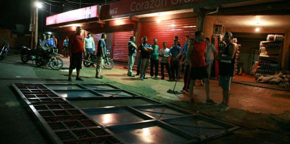 Disturbios en Venezuela por cortes de luz, agua y escasez
