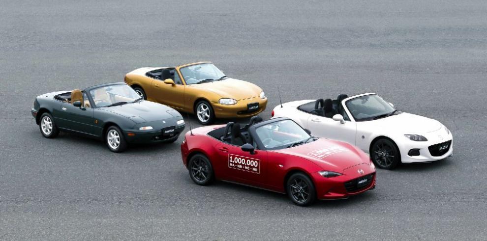 Mazda celebra la producción de la unidad un millón del Miata