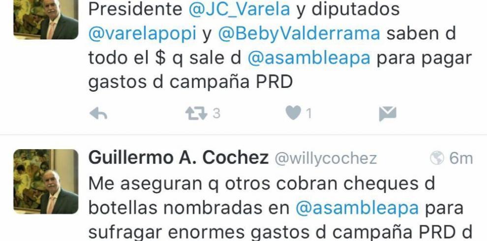 Asamblea 'paga'alianza con el PRD con contratos 'botella'