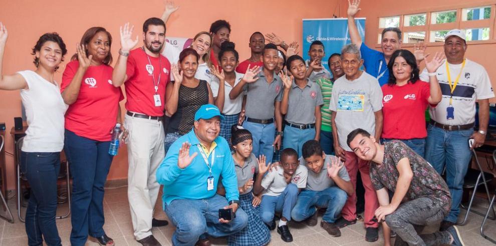LG Electronics Panamá le regala sonrisas a Fe y Alegría