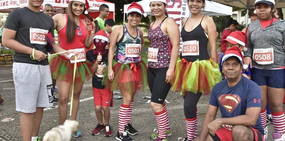 Santas Race, una tradición navideña