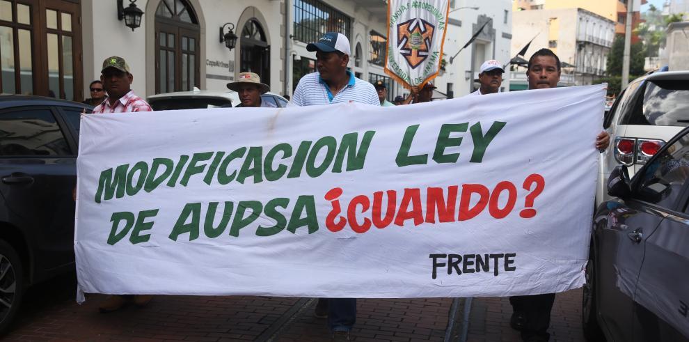 Arroceros marchan hasta la Presidencia para pedir más apoyo al sector