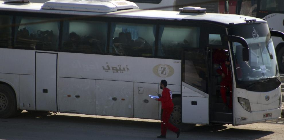 Siria:Salen de Alepo 23 autobuses con rebeldes