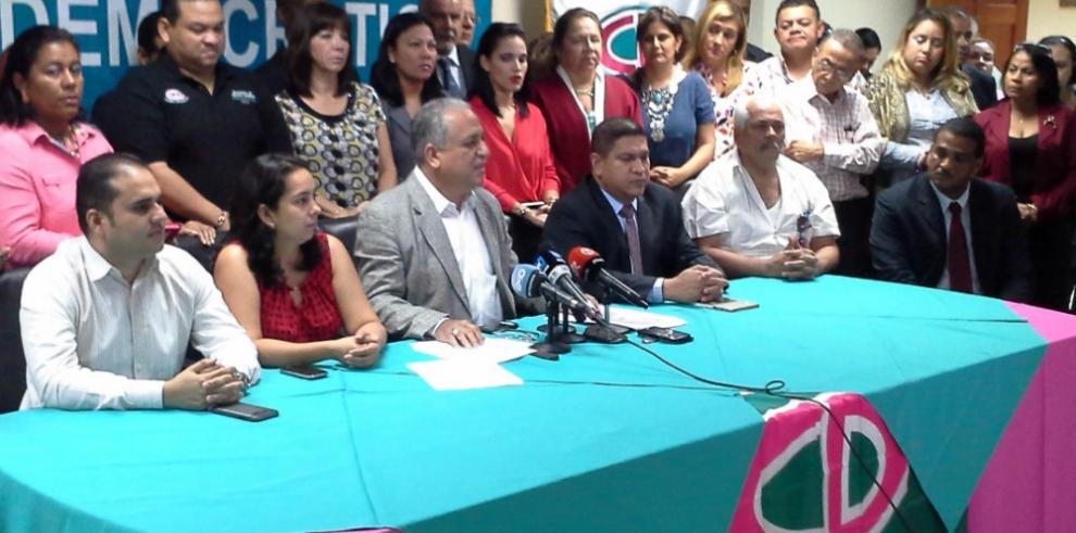 CD denuncia persecución política contra altos dirigentes del partido
