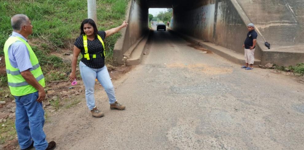 MOP atenderá túnel que conduce hacia Santa Elena en La Chorrera