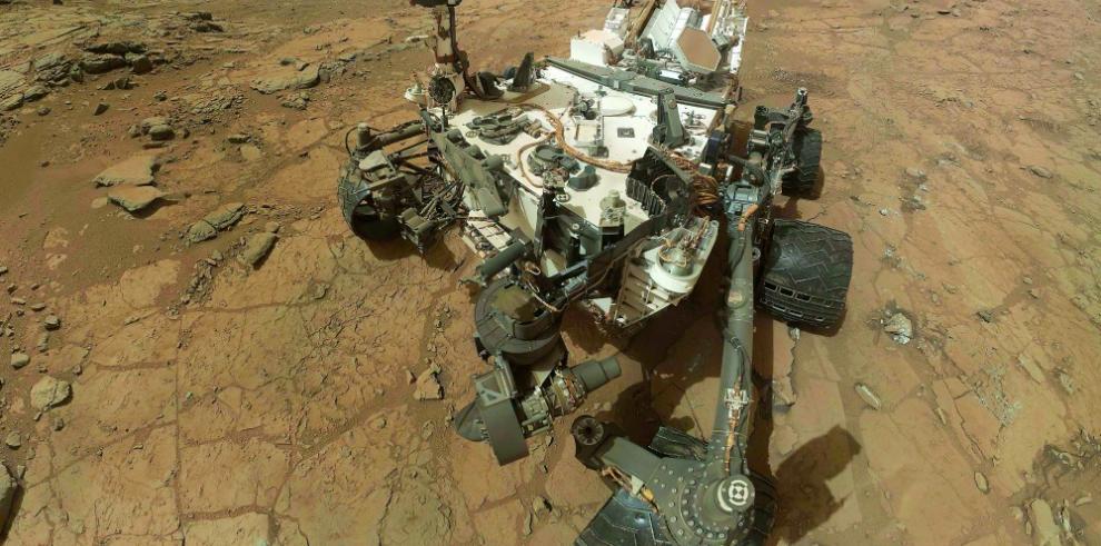 El robot Curiosity encuentra un extraño meteorito metálico en Marte