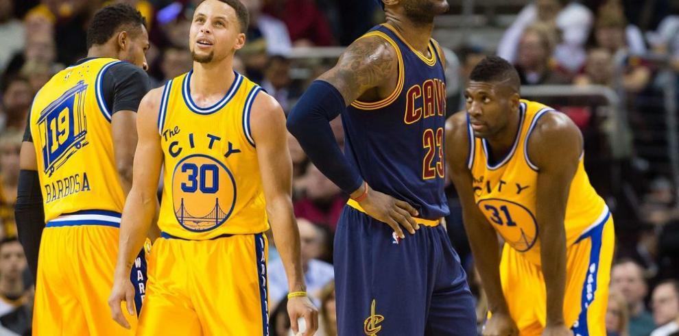 """Curry confirmó su """"paternidad"""" sobre LeBron James"""
