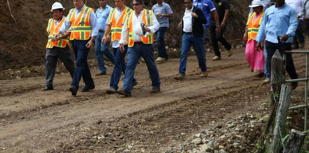 ComarcaNgäbe Buglé tendrá 36 kilómetros nuevos de carretera