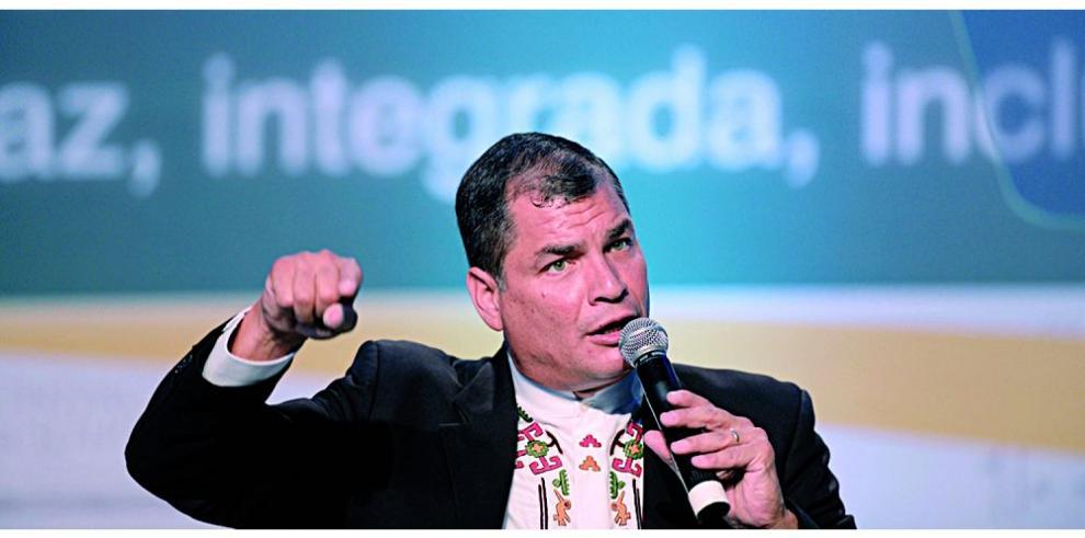 Correa proyecta año difícil para Ecuador