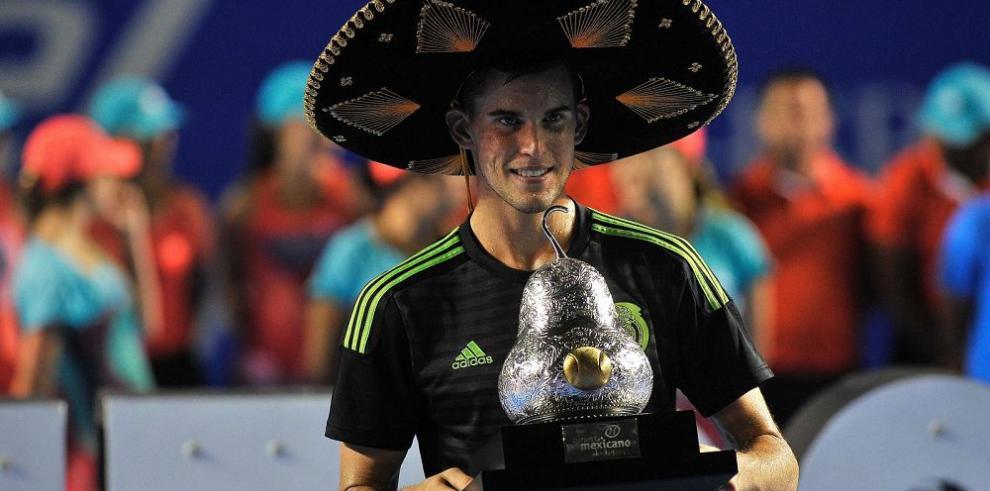 Thiem gana en Acapulco su primer torneo 500 ATP