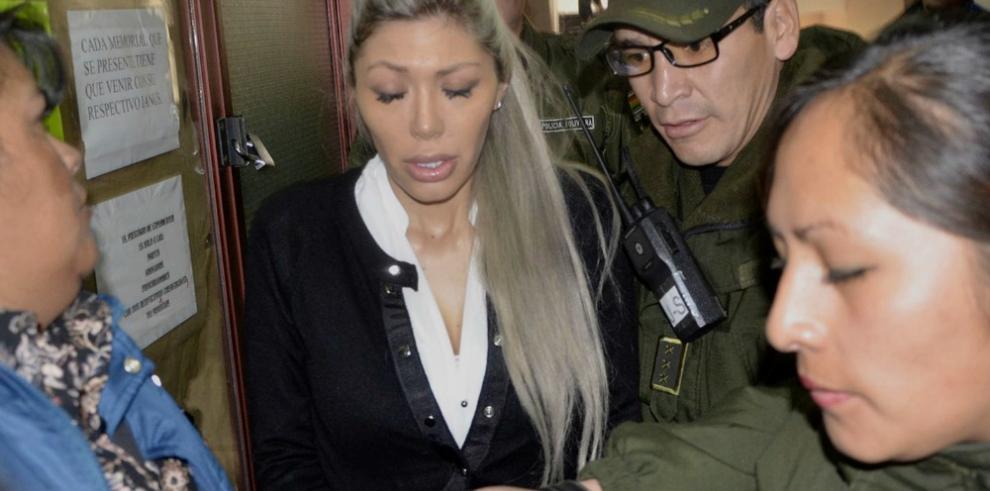 Detención preventiva para expareja del presidente Morales