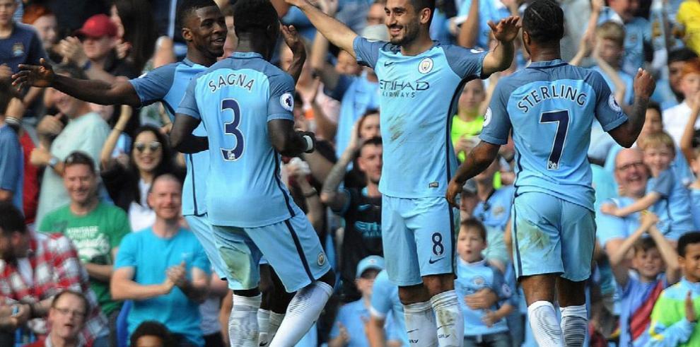 Manchester City es líder absoluto en la Liga Premier