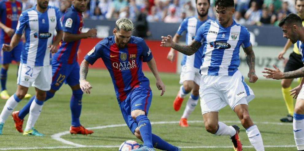 Messi y Suárez, los verdugos del Leganés