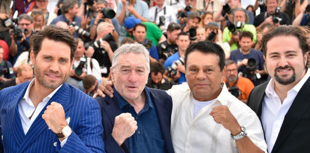 'Mano de Piedra', en Cannes