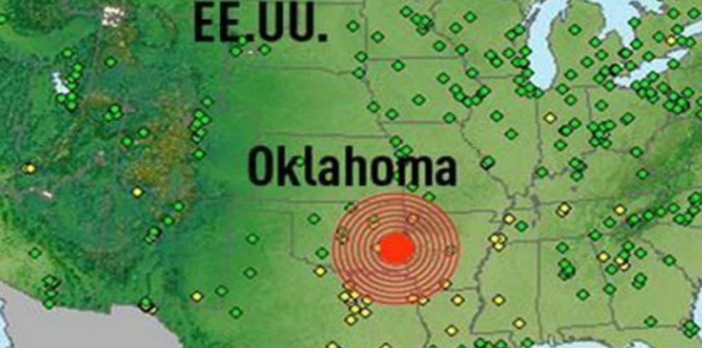 Sismo de 5,3 grados sacude Oklahoma, EE.UU.