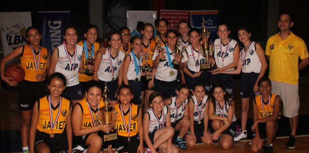 AIP Owls conquista el básquet Club Kiwanis Sub-12 femenina