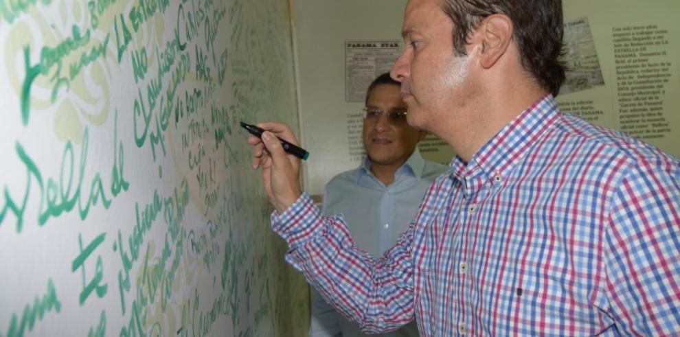 Javier Martinez Acha se solidariza con los colaboradores de GESE