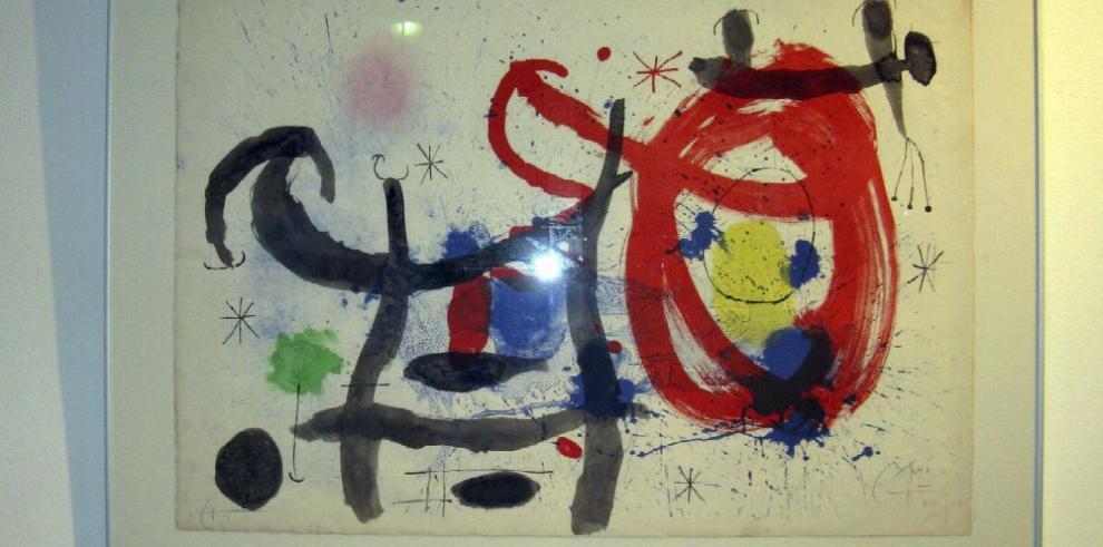 Oporto exhibirá 84 obras de Miró