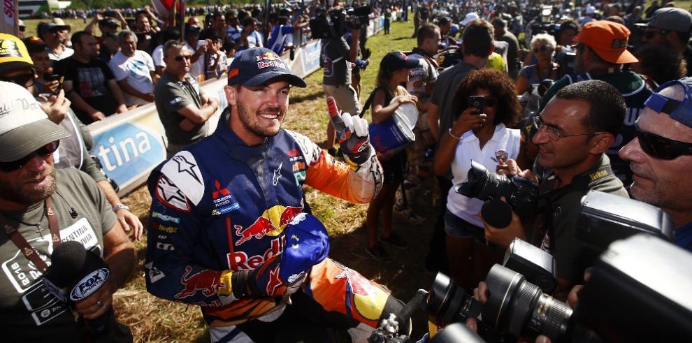 Las 10 primeras posiciones del Rally Dakar 2016 en motos