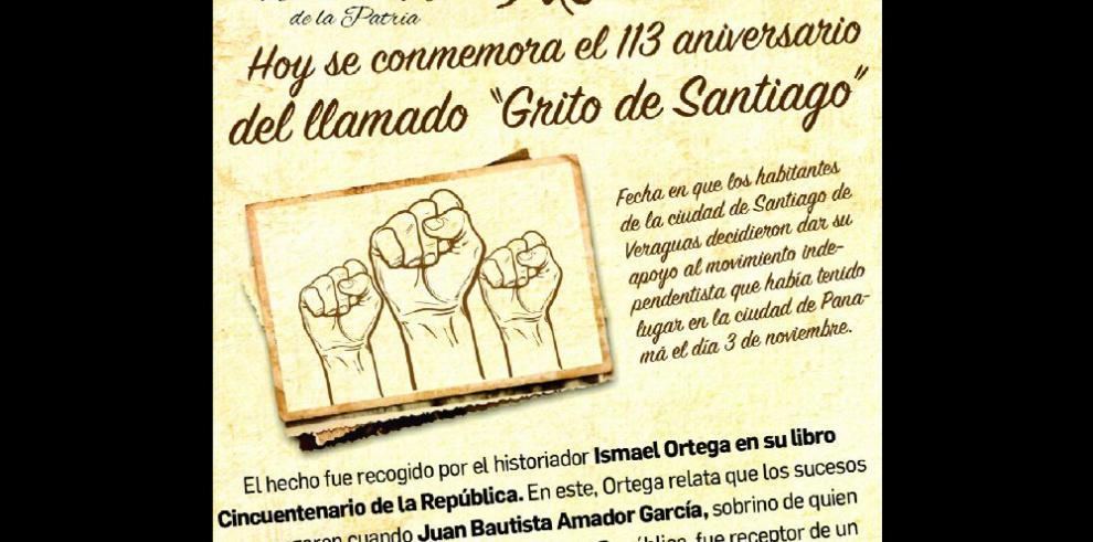 Grito de independencia de Santiago