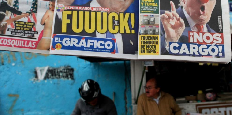 Victoria de Trump cae como balde de agua fría para comunidad hispana