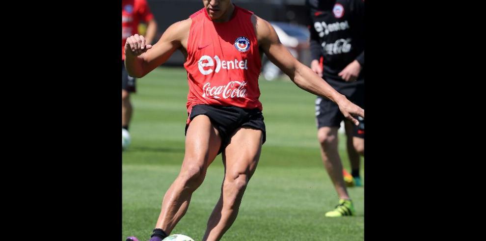 Sánchez, será baja para Chile frente a Colombia