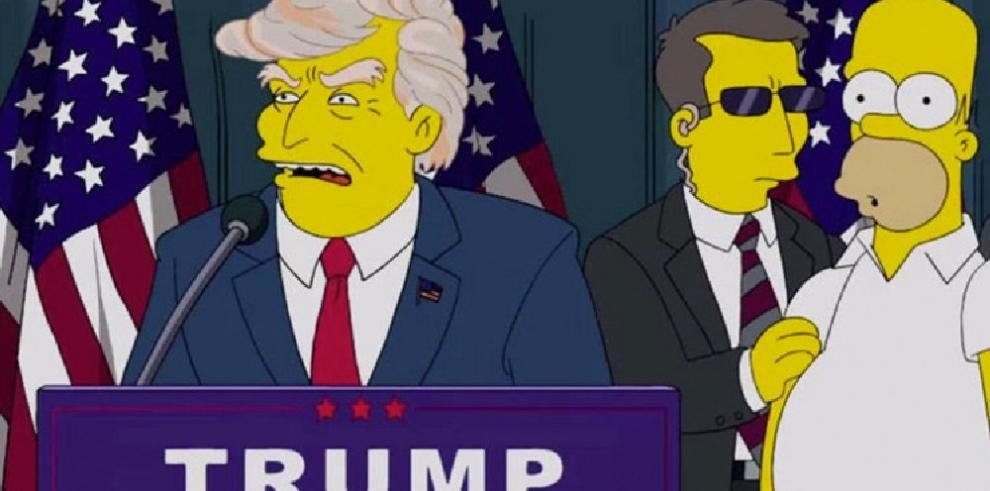 Los Simpson habían profetizado queTrump sería presidente deEEUU