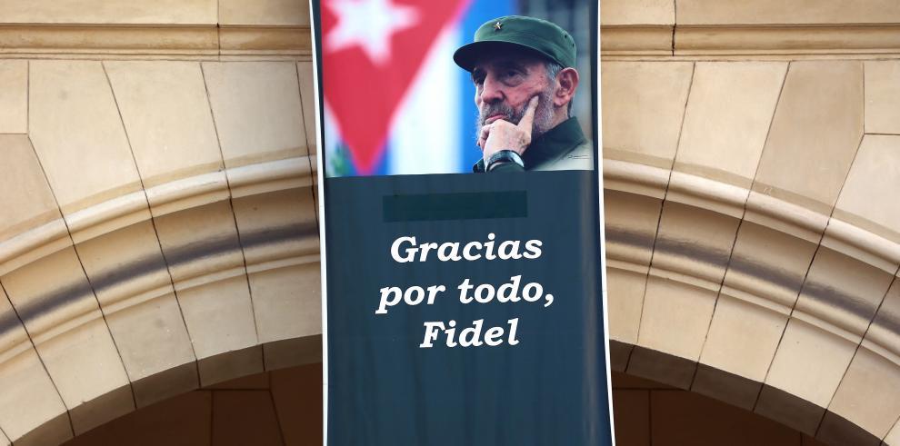 Cuba prohíbe usar nombre de Fidel Castro en espacios públicos