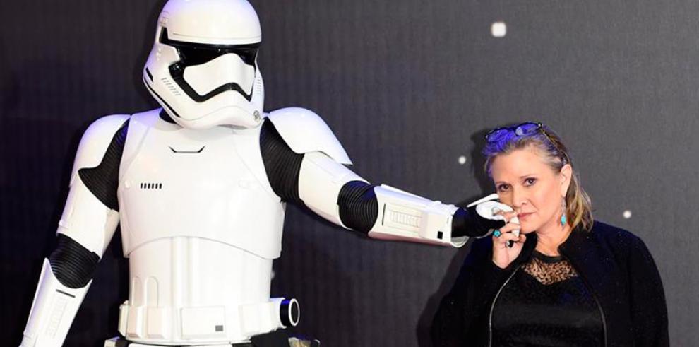 Carrie Fisher, la princesa Leia de