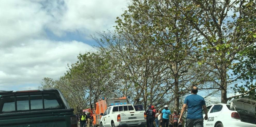 Accidente de tránsito en Natá deja dosmuertos y un herido