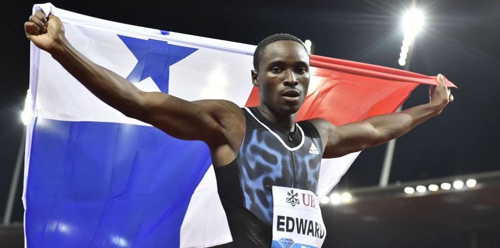 Edward se alista para competencia olímpica