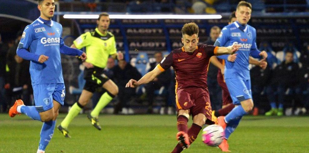 Roma sigue escalando en en el torneo italiano