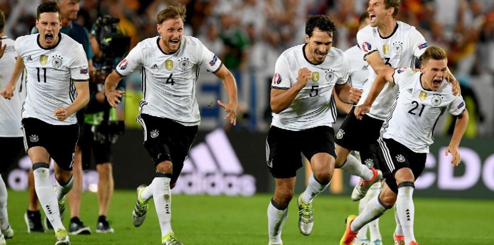 Alemania derrota a Italia y termina con el maleficio