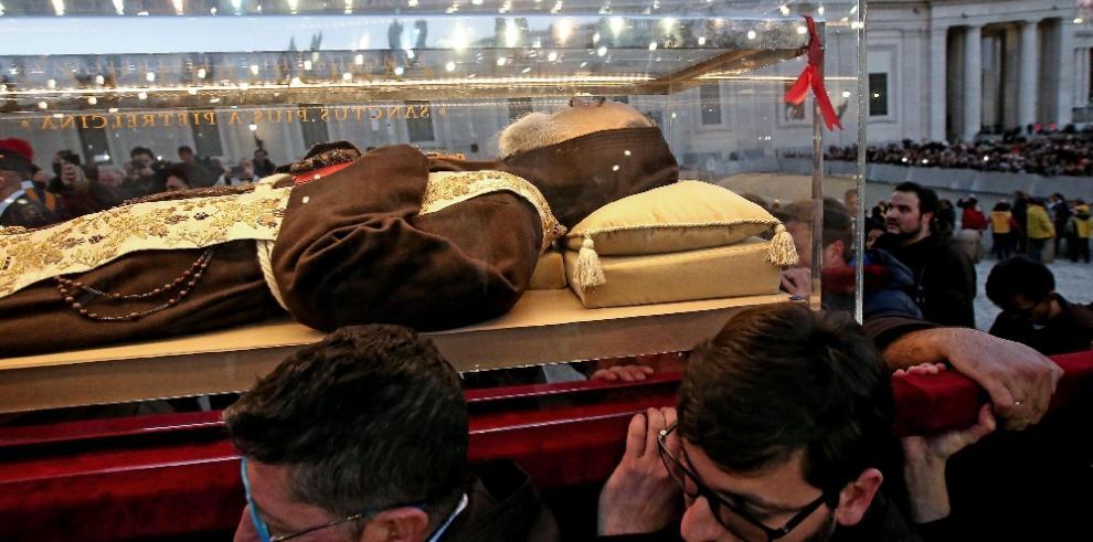 Las reliquias del Padre Pío han llegado al Vaticano