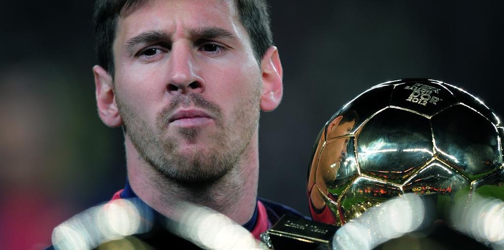 Messi favorito para un quinto Balón de Oro
