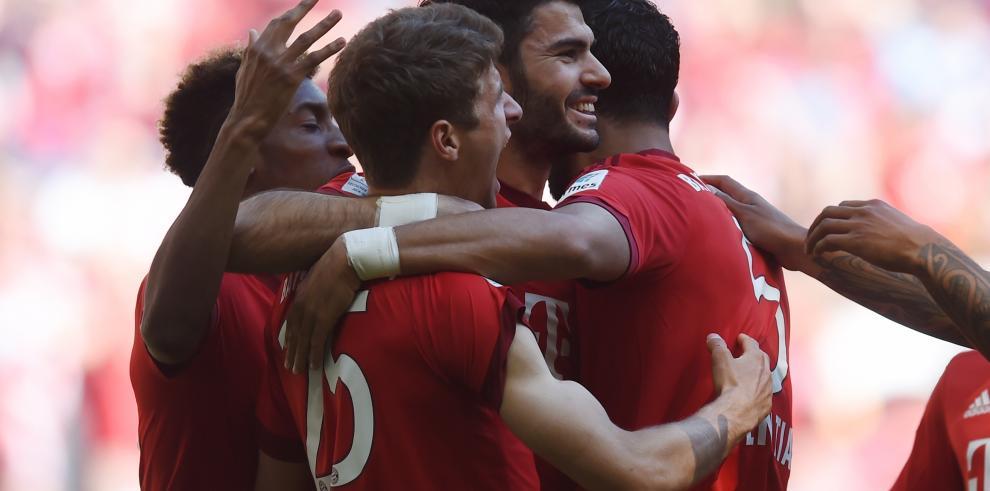 Bayern empata con 'Gladbach' y tendrá que esperar para ser campeón