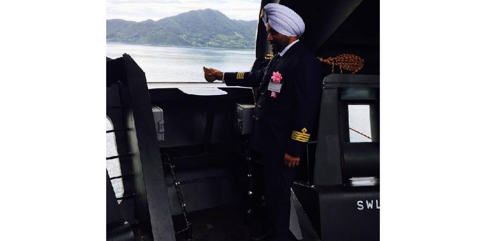 Conoce al capitán del primer buque que transitará por el Canal ampliado