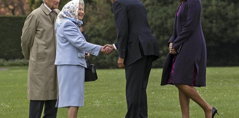 La última visita del presidente Obama a Inglaterra